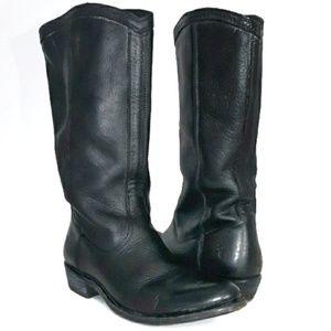 Frye Black Western Slouchy Boots 8